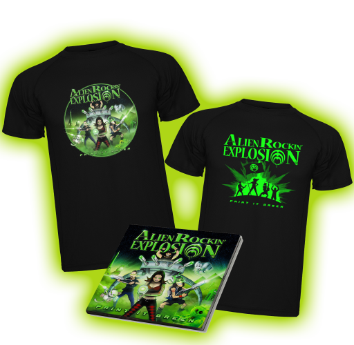 'Paint it Green' Supporter Pack